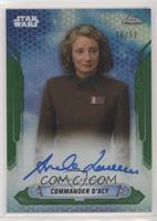 Amanda Lawrence as Commander D'Acy #/50