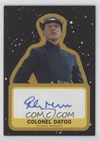 Rocky Marshall as Colonel Datoo #/25