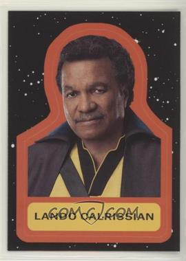 2019 Topps Star Wars: Journey to The Rise of Skywalker - Character Retro Stickers #CS-4 - Lando Calrissian