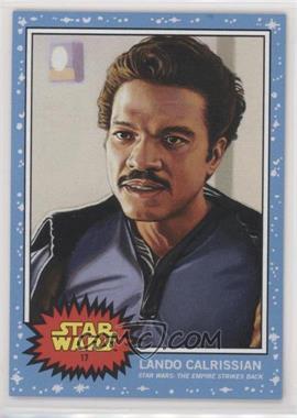 2019 Topps Star Wars Living Set - [Base] #17 - Lando Calrissian /1427