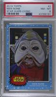 Nien Nunb [PSA 8 NM‑MT] #/2,888