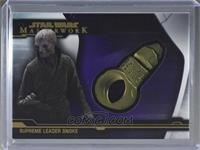 Supreme Leader Snoke - Snoke's Ring [EX to NM] #/50