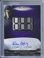 Kenneth Colley as Admiral Piett - Imperial Rank Badge #/50