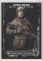 Resistance Soldier #/5