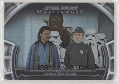 2019 Topps Star Wars Masterwork - Defining Moments - Rainbow Foil #DM-8 - Lando Calrissian /299