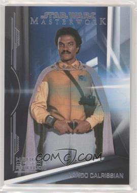 2019 Topps Star Wars Masterwork - Heroes of the Rebellion #HR-7 - Lando Calrissian