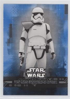 2019 Topps Star Wars Rise of Skywalker Series 1 - [Base] - Blue #35 - First Order Stormtrooper