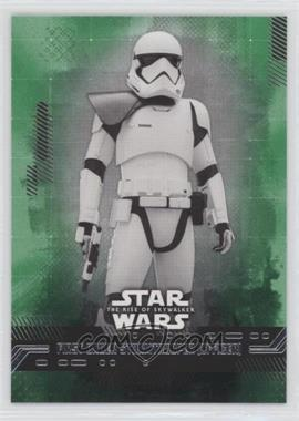 2019 Topps Star Wars Rise of Skywalker Series 1 - [Base] - Green #35 - First Order Stormtrooper