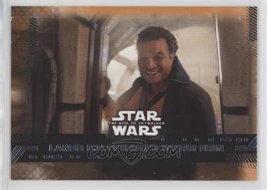 2019 Topps Star Wars Rise of Skywalker Series 1 - [Base] - Orange #84 - Lando Calrissian's Warm Grin /99