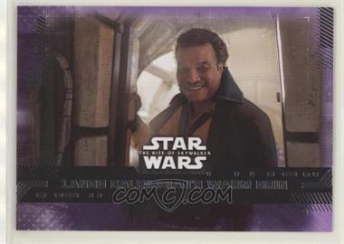 2019 Topps Star Wars Rise of Skywalker Series 1 - [Base] - Purple #84 - Lando Calrissian's Warm Grin