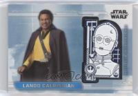 C-3PO Medallion - Lando Calrissian