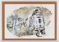 R2-D2: Be A Hero #/99