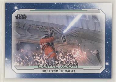 2019 Topps Star Wars Skywalker Saga - [Base] - Blue #59 - Luke Versus the Walker