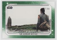 Luke Skywalker Meets Rey #/99