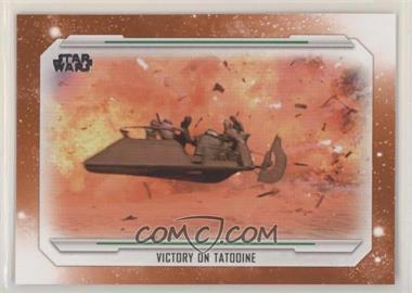 2019 Topps Star Wars Skywalker Saga - [Base] - Orange #69 - Victory on Tatooine