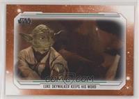 Luke Skywalker Keeps his word