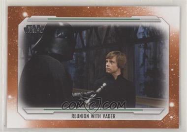 2019 Topps Star Wars Skywalker Saga - [Base] - Orange #75 - Reunion With Vader