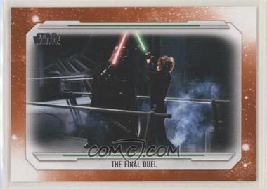 2019 Topps Star Wars Skywalker Saga - [Base] - Orange #79 - The Final Duel