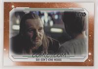 Qui-Gon's Kind Words