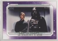 Luke Skywalker Meets the Emperor #/25