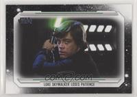 Luke Skywalker loses Patience