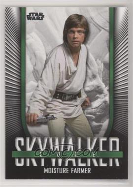 2019 Topps Star Wars Skywalker Saga - Iconic Looks #IL-1 - Luke Skywalker (Moisture Farmer)