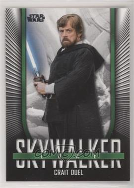 2019 Topps Star Wars Skywalker Saga - Iconic Looks #IL-10 - Luke Skywalker (Crait Duel)