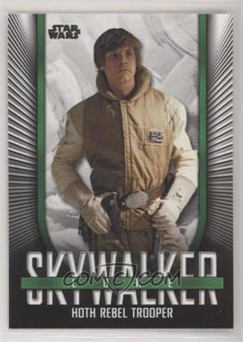 2019 Topps Star Wars Skywalker Saga - Iconic Looks #IL-4 - Luke Skywalker (Hoth Rebel Trooper)