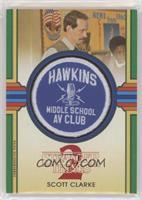 Scott Clarke (Hawkins Middle School AV) #/50