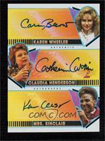 Cara Buono , Catherine Curtin , Karen Ceesay #/10