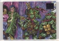 Tales of the Teenage Mutant Ninja Turtles Volume 1 , Issue 1 (Ryan Brown) #/50