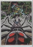 Jim Lawson , Donatello vs. the spider #/99