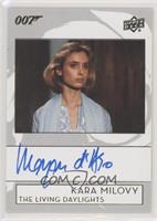 Maryam d'Abo as Kara Milovy [EX to NM]