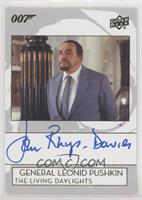 John Rhys-Davies as General Leonid Pushkin