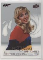 Lynn-Holly Johnson as Bibi Dahl
