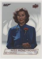 Lois Maxwell as Miss Moneypenny