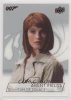 Gemma Atherton as Agent Fields