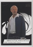 SP - Julian Glover as Aristotle Kristatos