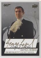 George Lazenby as James Bond #/99