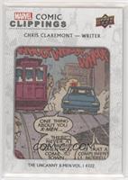 Chris Claremont The Uncanny X-Men Vol.1 #222 #/85