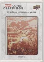 Jonathan Hickman Infinity #1 #/69
