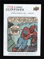 John Romita Sr. The Amazing Spider-Man Vol.1 King Size Special #5 #9/73