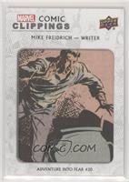 Mike Freidrich Adventure Into Fear #20 #38/75