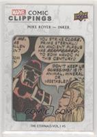 Mike Royer The Eternals Vol.1 #5 #/93