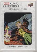 Peter David The Incredible Hulk Vol.1 #339 #/51