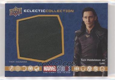 2019 Upper Deck Marvel Cinematic Universe 10th Anniversary - Eclectic Collection Memorabilia #EC-24 - Loki