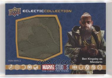 2019 Upper Deck Marvel Cinematic Universe 10th Anniversary - Eclectic Collection Memorabilia #EC-25 - Mandarin