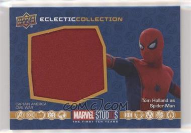2019 Upper Deck Marvel Cinematic Universe 10th Anniversary - Eclectic Collection Memorabilia #EC-34 - Spider-Man