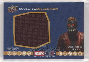 2019 Upper Deck Marvel Cinematic Universe 10th Anniversary - Eclectic Collection Memorabilia #EC-35 - Star-Lord