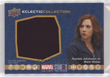2019 Upper Deck Marvel Cinematic Universe 10th Anniversary - Eclectic Collection Memorabilia #EC-4 - Black Widow